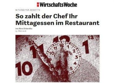 So zahlt der Chef Ihr Mittagessen im Restaurant