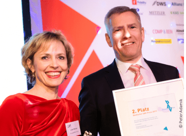 DEUTSCHER BAV-PREIS 2019 – KraussMaffei gewinnt 2. Platz