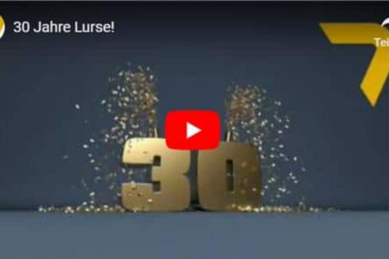 Film ab! Spannende Zahlen zum 30-jährigen Firmenjubiläum